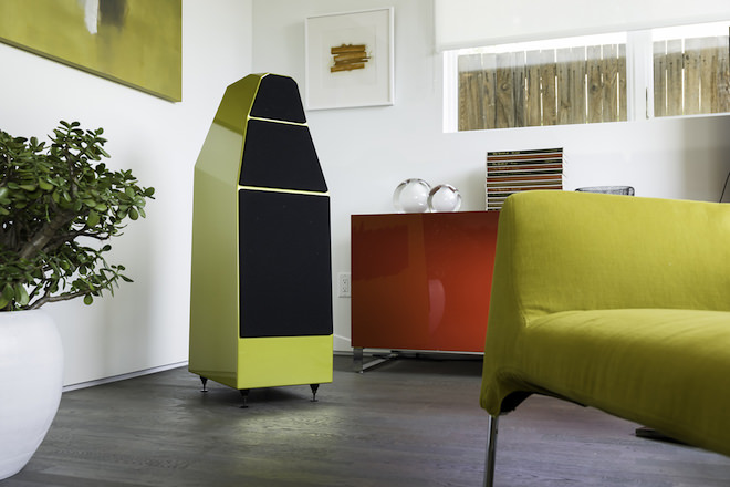 Wilson Audio Yvette Loudspeaker in Austin Yellow