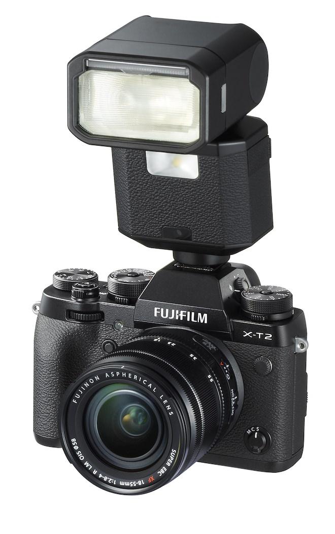 FujiFilm XT-2 with EF-X500 Flash