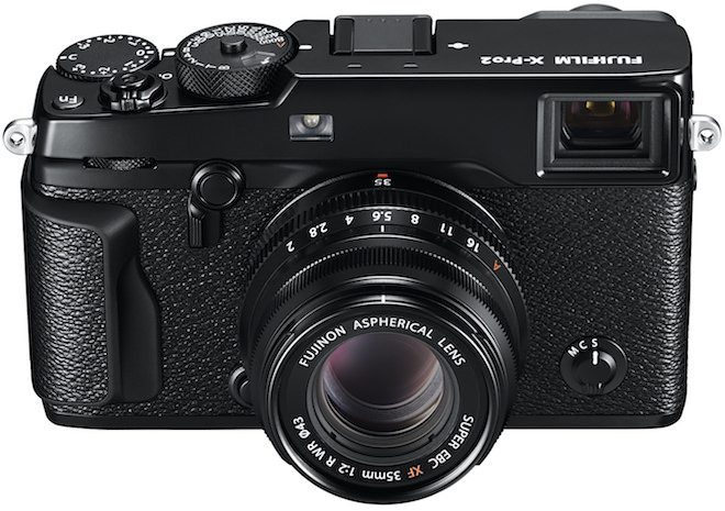FujiFilm X-Pro2 Rangefinder Digital Camera Front Top View