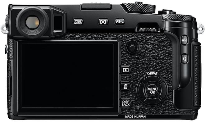 FujiFilm X-Pro2 Rangefinder Digital Camera Back View