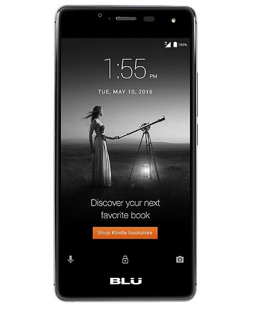 BLU R1 HD Smartphone lockscreen ad Amazon Prime