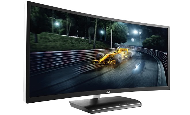 AOC C3583FQ Curved Monitor