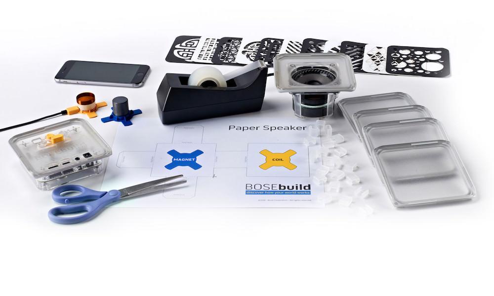 BOSEbuild Speaker Cube Kit