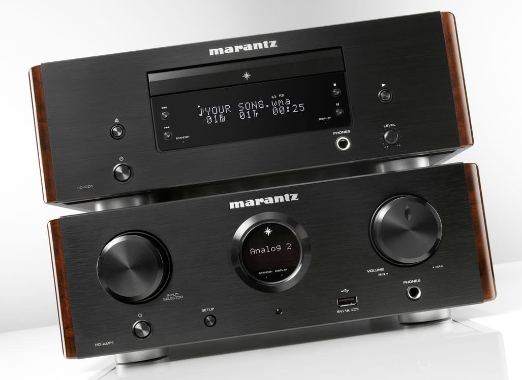 Marantz HD-CD1 CD Player and HD-AMP1 Integrated Amplifier