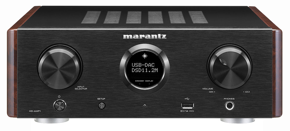 Marantz HD-AMP1 Integrated Amplifier Front