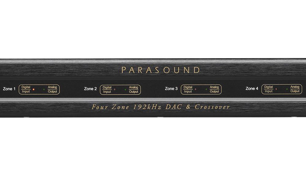 Parasound ZoneMaster 4 DAX Four Zone DAC & Crossover
