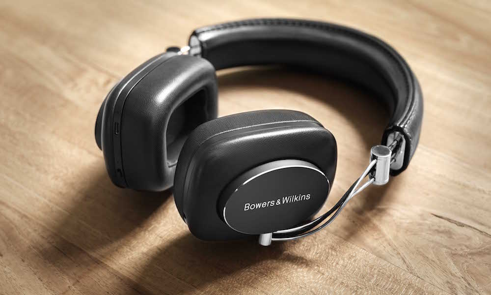 Bowers & Wilkins P7 Wireless Headphones Laying on Table