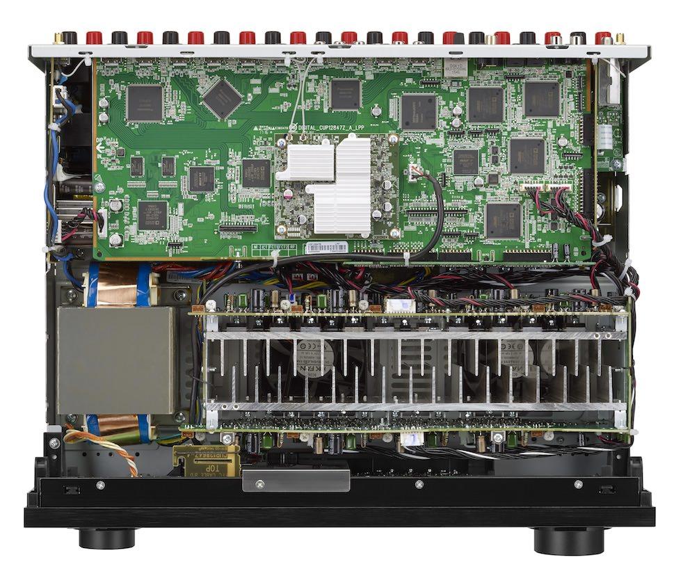 Denon AVR-X4300H A/V Receiver Inside Top View
