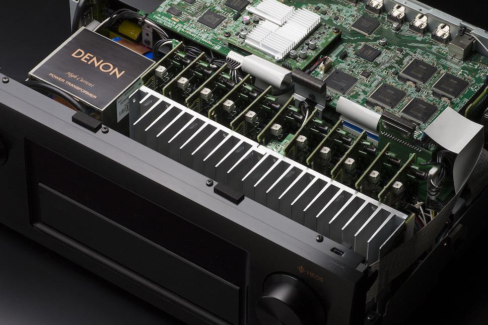 Denon AVR-X6300H A/V Receiver Inside