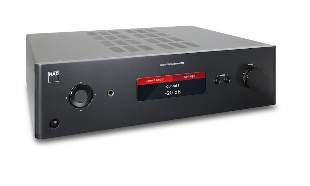 NAD Debuts C 338, 368, 388 Hybrid Digital DAC Integrated