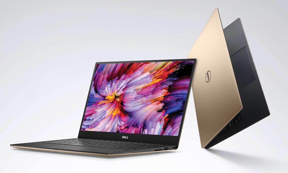 Dell XPS 13 Rose Gold Laptop (2016)