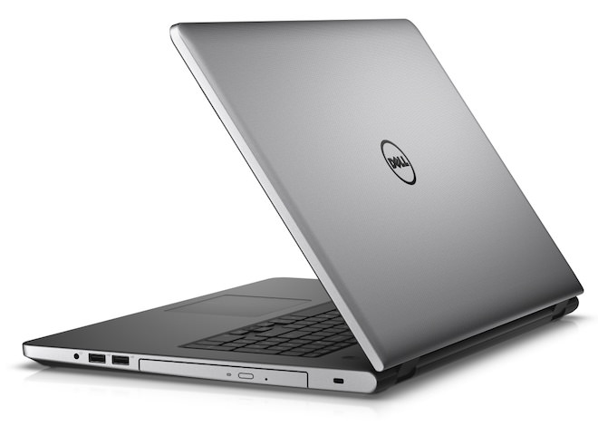 Dell inspiron 17 5000 Laptop Rear angle