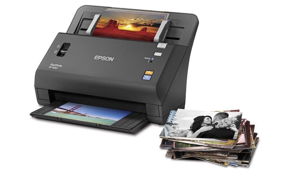 Epson FastFoto FF-640 Scanner