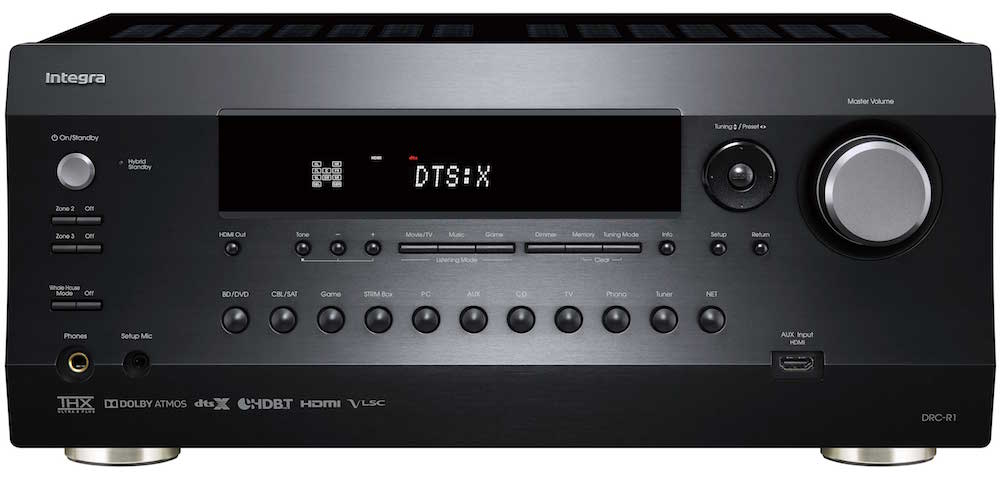Integra DRC-R1 A/V Preamp Front View