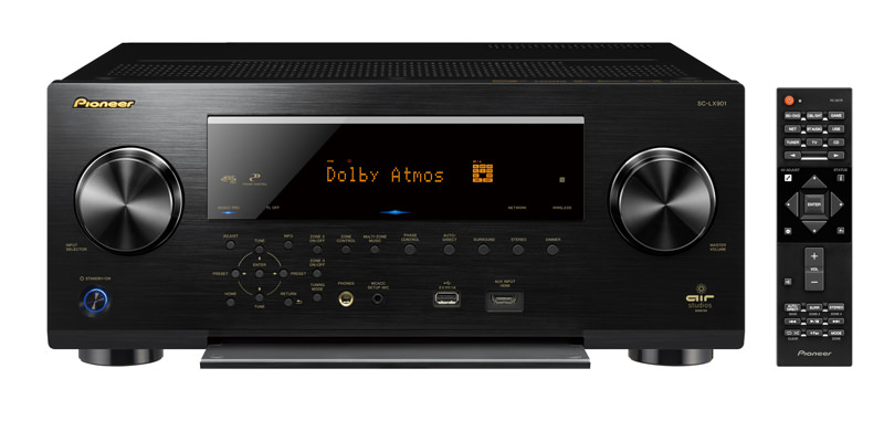Pioneer Elite SC-LX901 A/V Receiver with remote