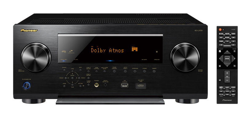 Pioneer Elite SC-LX701 A/V Receiver with remote