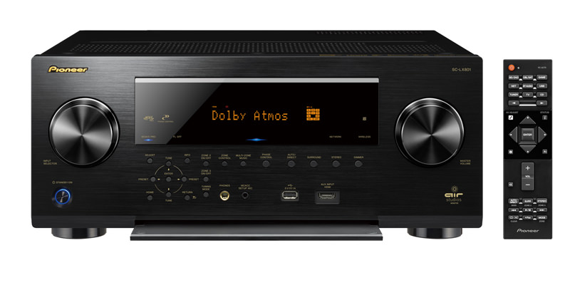 Pioneer Elite SC-LX801 A/V Receiver with remote