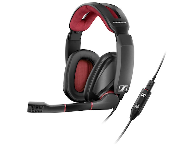 Sennheiser GSP 350 Gaming Headset and Click Controller