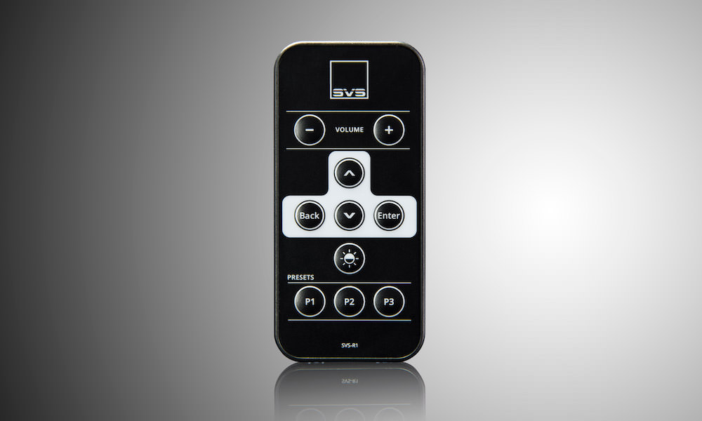 SVS 16-Ultra Remote Control