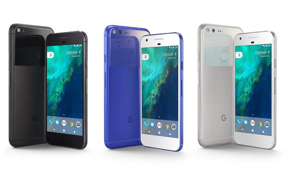 Google Pixel Smartphone Colors