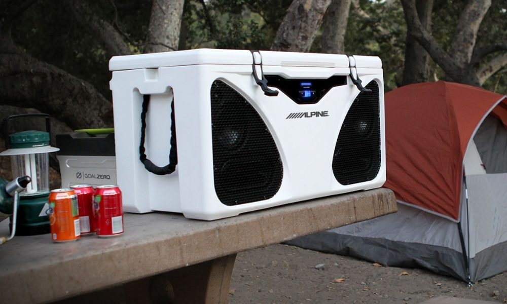 PWD-CB1 Alpine In-Cooler Entertainment (ICE) system