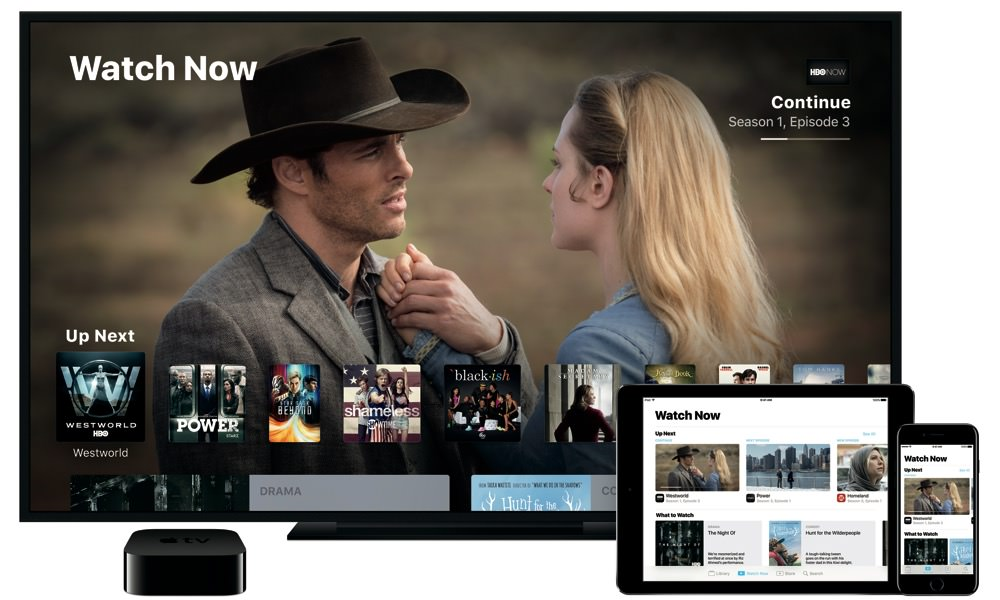 Apple TV App with iPhone and iPad