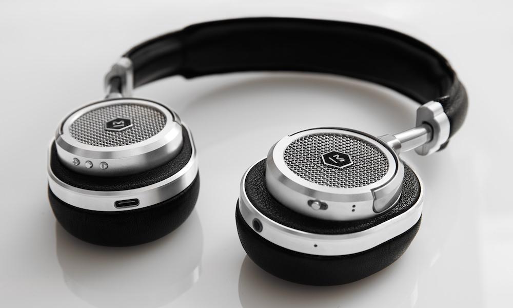 Master & Dynamic MW50 Wireless On-Ear Headphones - silver/black