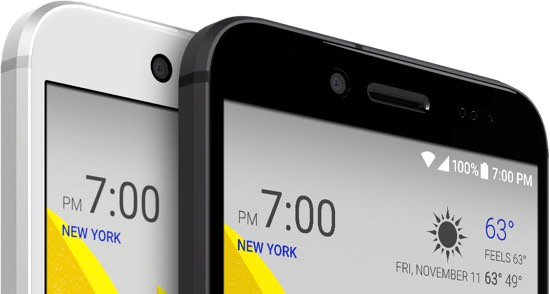 HTC Bolt Sprint Smartphone Colors