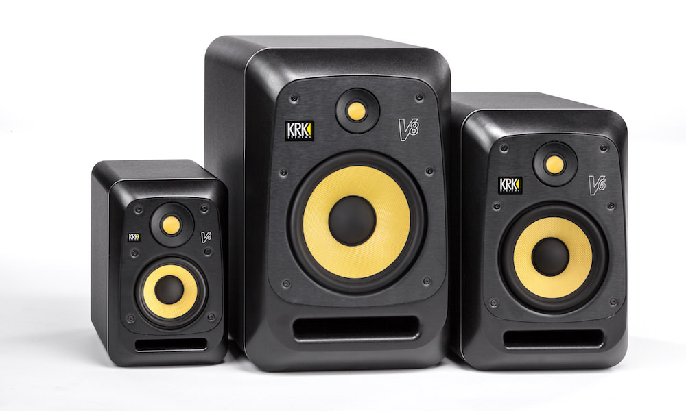 KRK V SERIES 4 Powered Reference Monitors