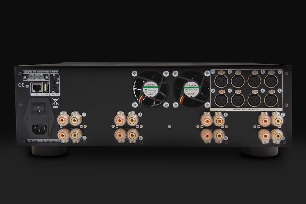 StormAudio PA 8 Master Back View