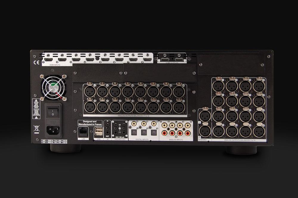 StormAudio ISP 3D.32 ELITE Back View