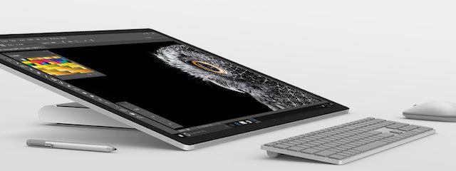 Microsoft Surface Studio Down