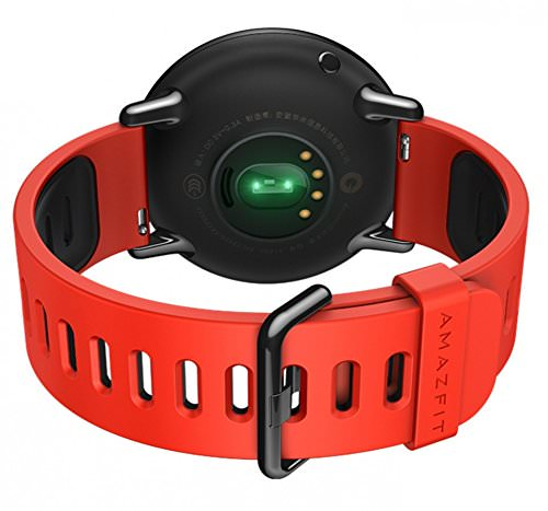 Amazfit PACE Smartwatch with red band