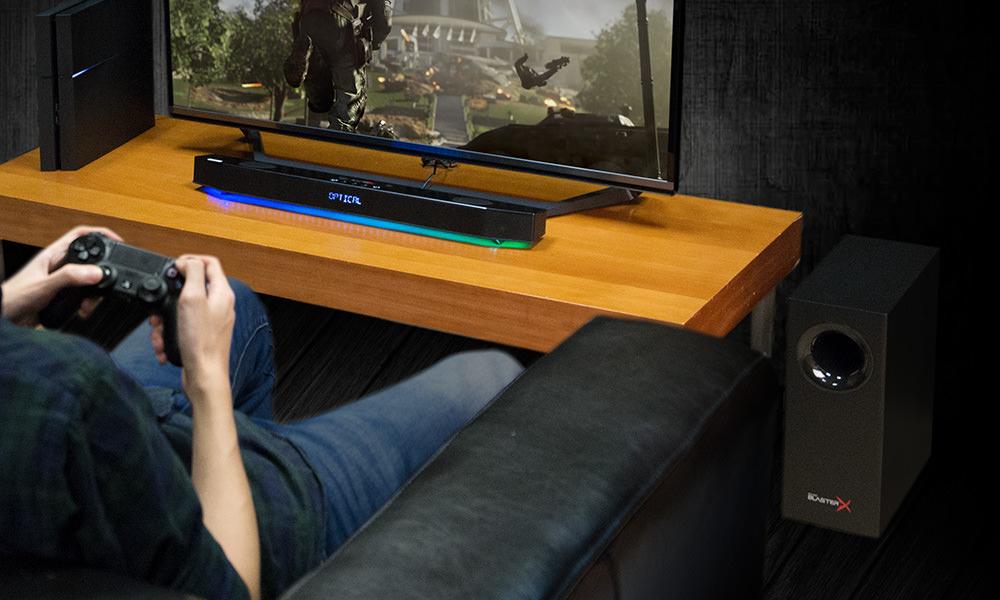 Creative Sound BlasterX Katana Gaming Audio System