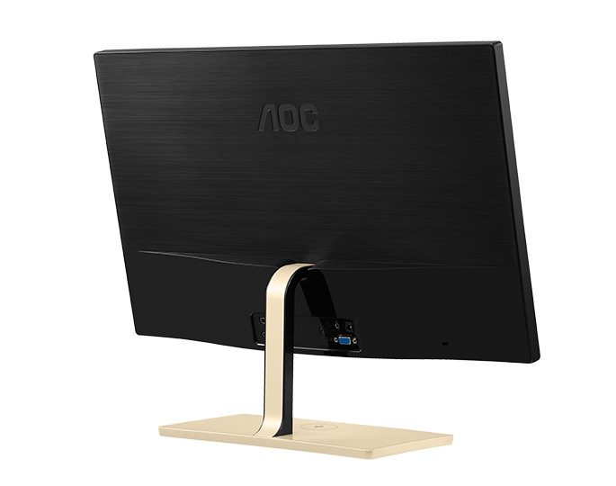 AOC P2779VC PLS Monitor Back View