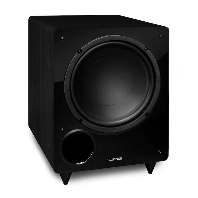 Fluance DB10 Subwoofer Black