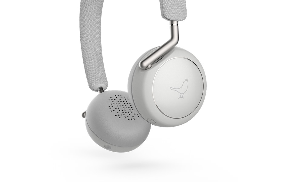 Libratone Q Adapt On-Ear wireless headphones in cloudy white