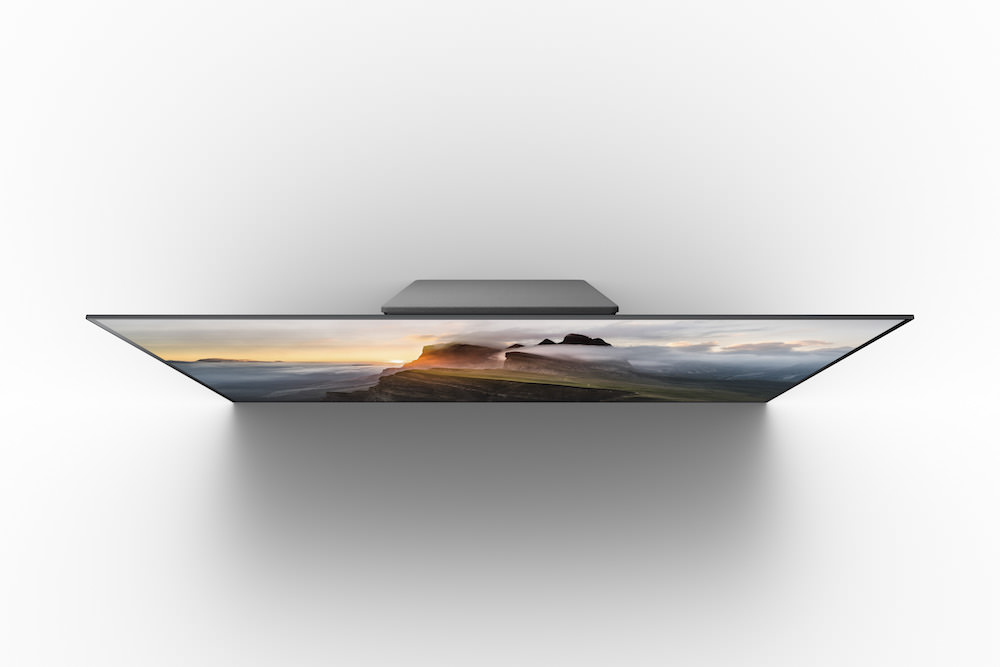 Sony XBR-A1E BRAVIA OLED TV top view