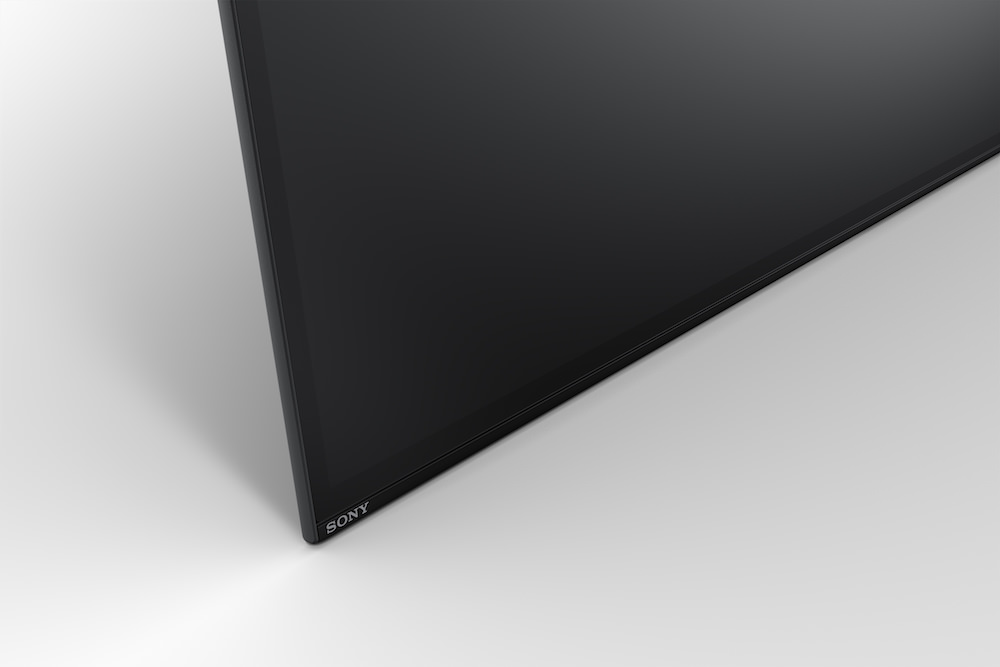 Sony XBR-A1E BRAVIA OLED TV bottom left corner
