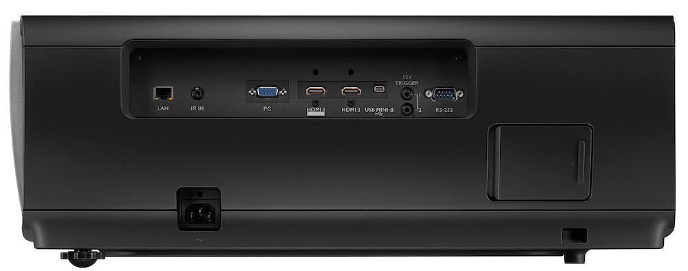 BenQHT8050 side ports