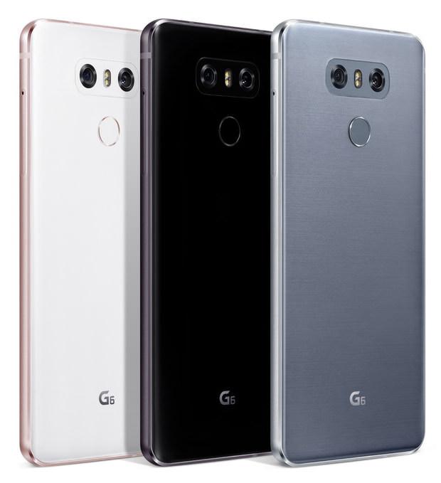 lg g6 smartphone doubles up on cameras. Black Bedroom Furniture Sets. Home Design Ideas