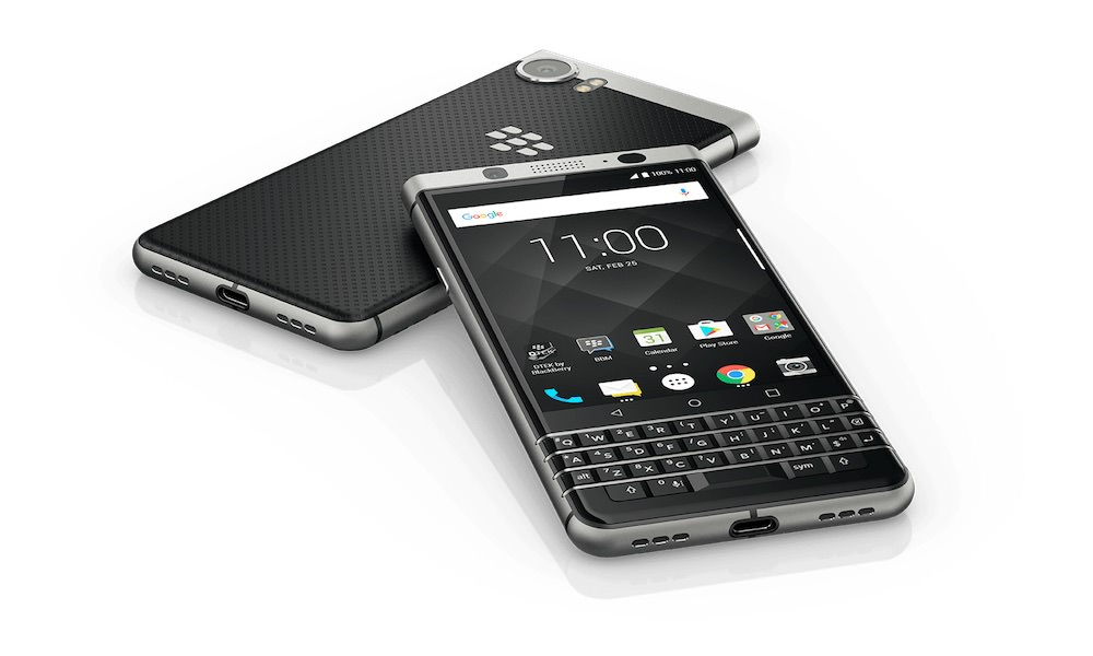 BlackBerry KEYone smartphone 2017