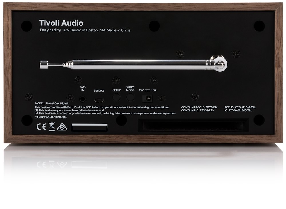 tivoli audio updates model one tabletop radio. Black Bedroom Furniture Sets. Home Design Ideas