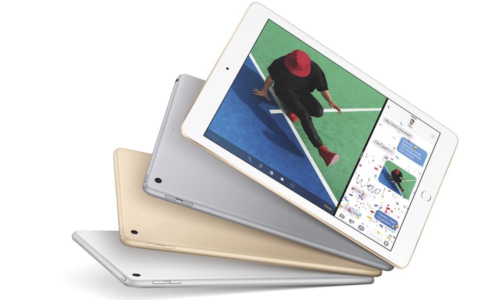 Apple iPad (2017) Colors