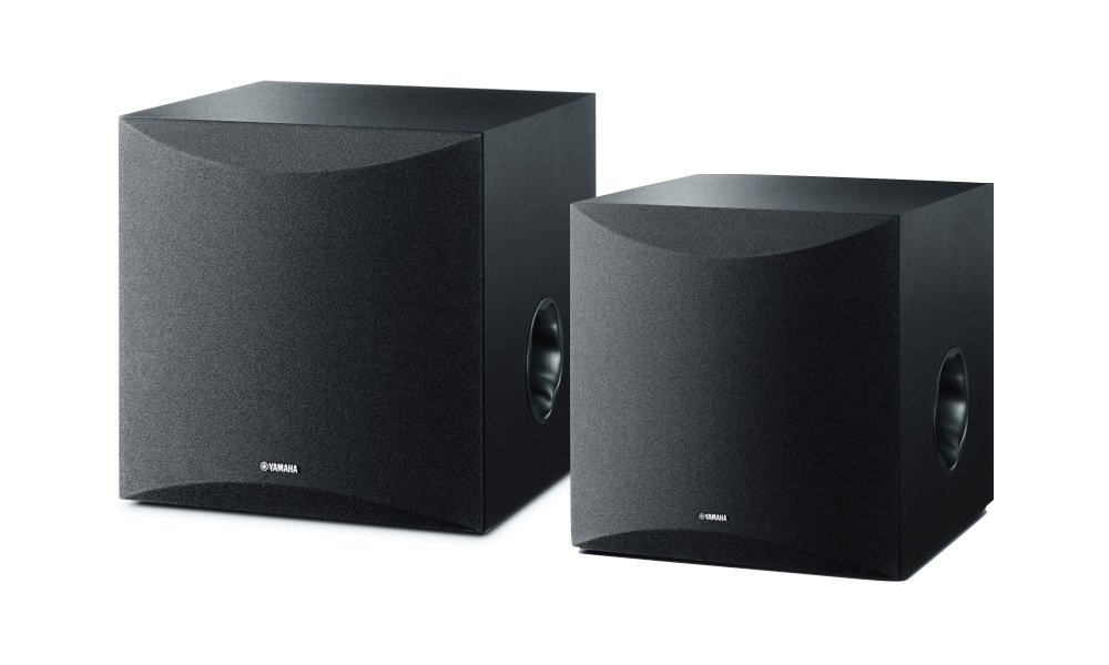 Yamaha NS-SW050 and NS-SW100 Powered Subwoofers
