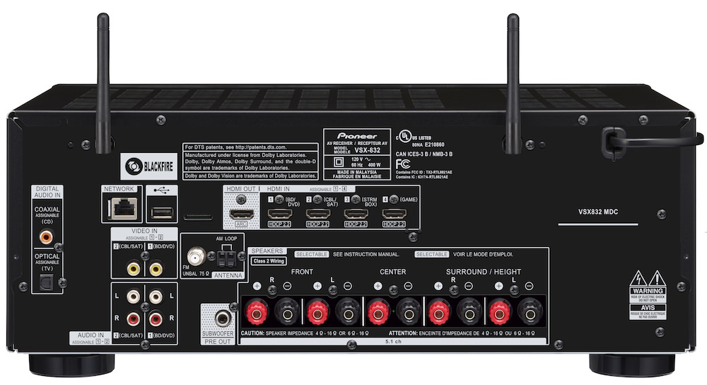 Best Home Theater Receivers Under