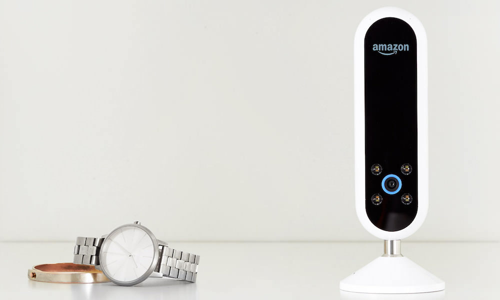 Amazon Echo Look next to watch