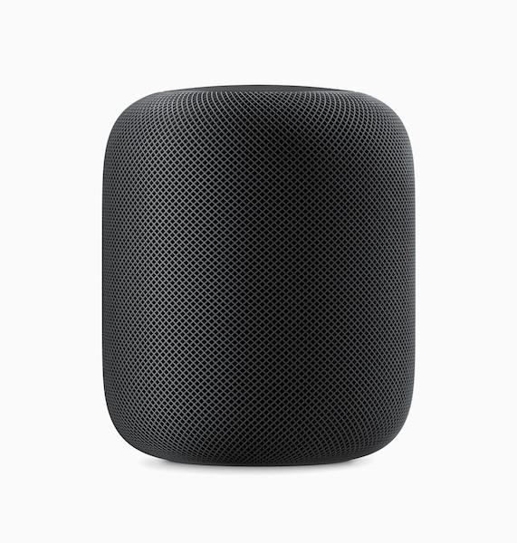 Apple HomePod Black Side View