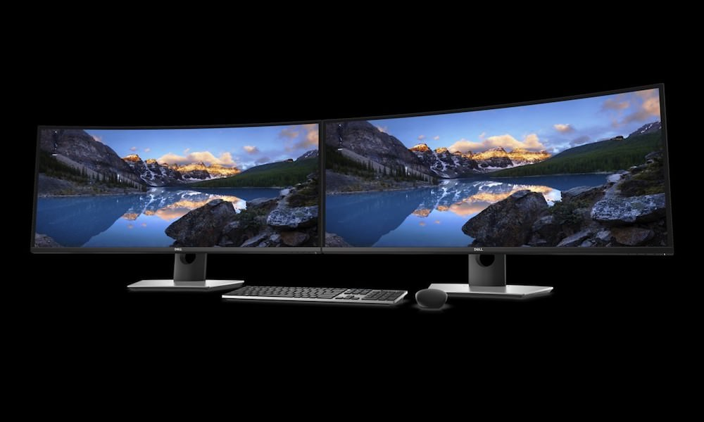 Dell UltraSharp 38 Curved Monitor (Two Together)