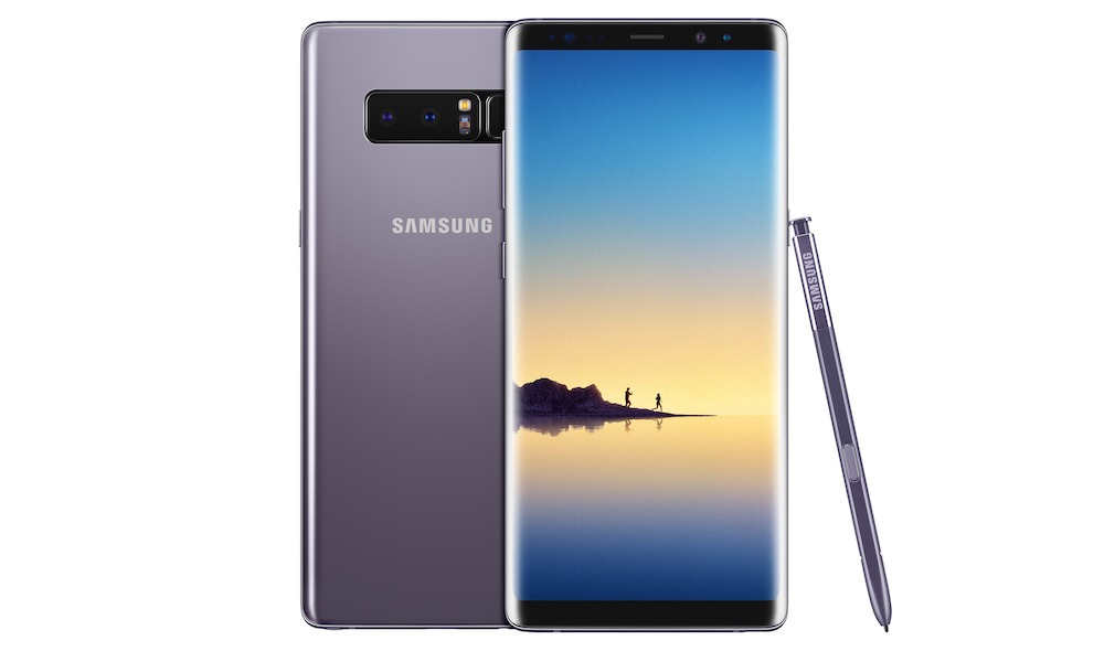 Samsung Galaxy Note8 Smartphone in Orchid Gray